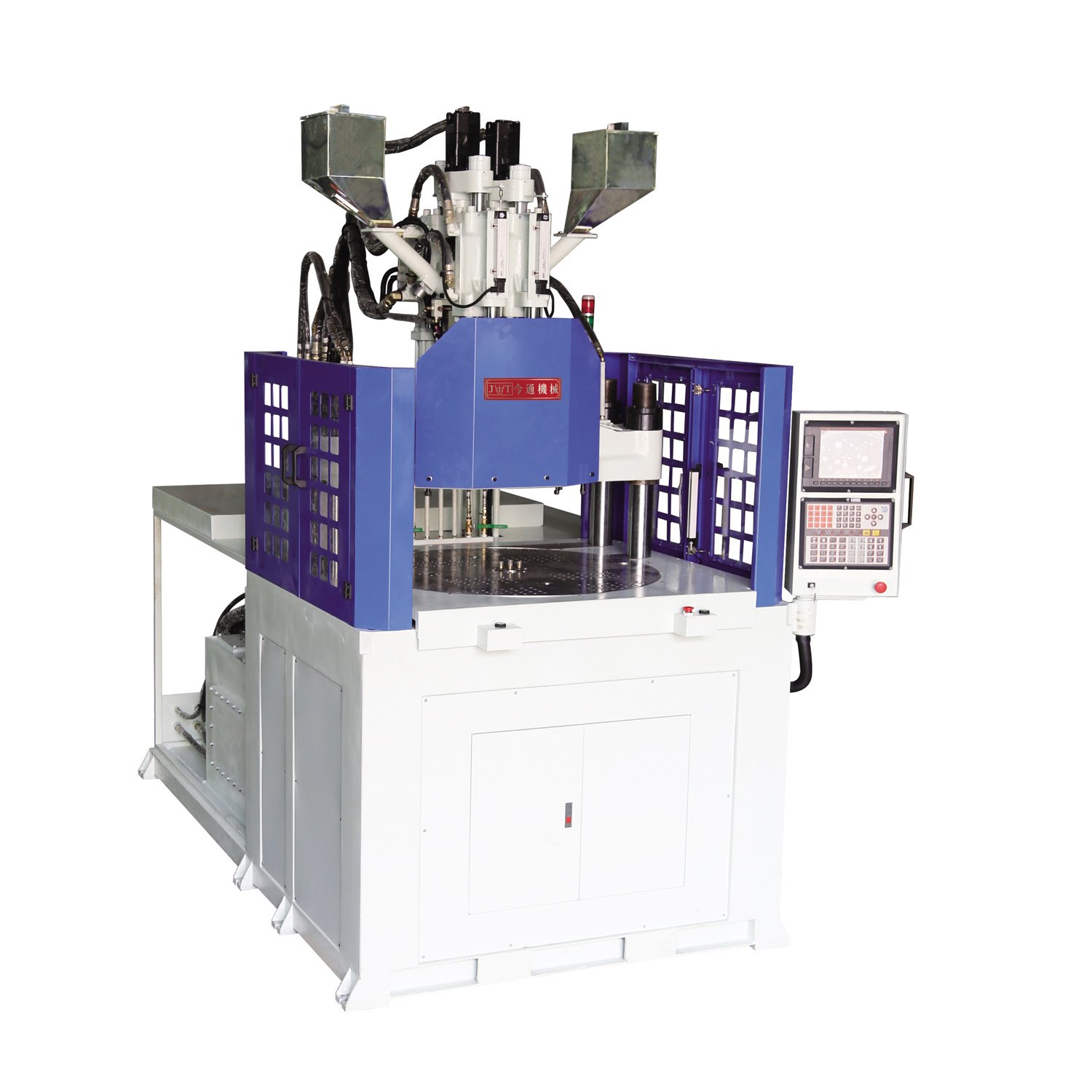 Two Color Vertical Injection Molding Machine JTT-1000 2V3R